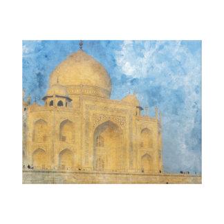 Taj Mahal in Agra Indien Leinwanddruck