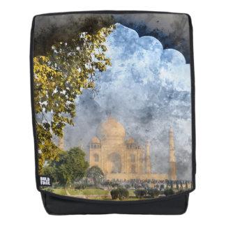 Taj Mahal in Agra Indien Rucksack