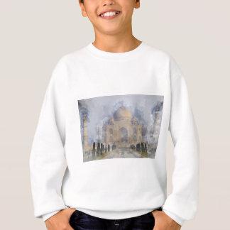Taj Mahal in Agra Indien Sweatshirt