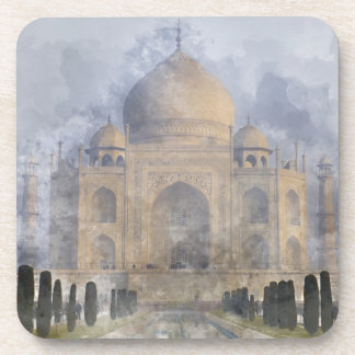 Taj Mahal in Agra Indien Untersetzer