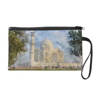 Taj Mahal in Agra Indien Wristlet Handtasche