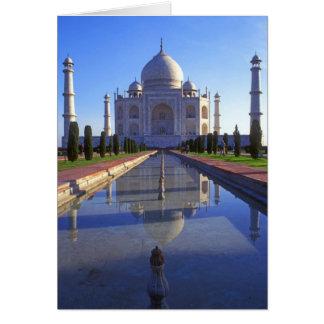 Taj Mahal in Agra Karte