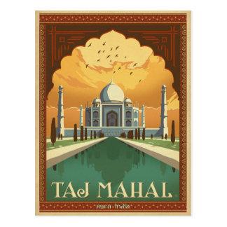 Taj Mahal, Indien Postkarte