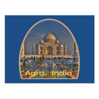 TAJ MAHAL Indien Postkarte