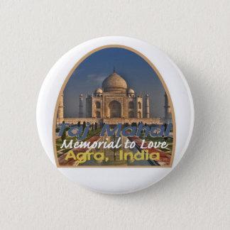 TAJ MAHAL Indien Runder Button 5,7 Cm