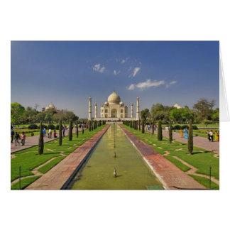 Taj Mahal Mausoleum/Agra, Indien 2 Karte