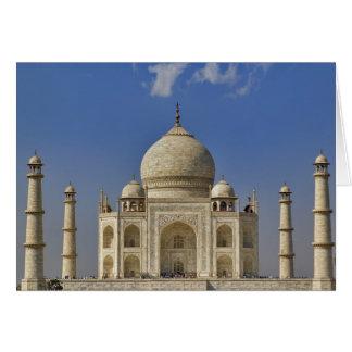 Taj Mahal Mausoleum/Agra, Indien Karte