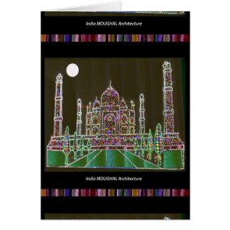 Taj Mahal Moghul Architektur-ErbGebäude 99 Karte