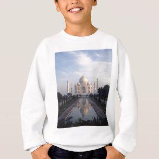 Taj Mahal Reflexion in Agra, Uttar Pradesh, Indien Sweatshirt