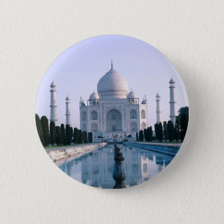 Taj Mahal Runder Button 5,1 Cm