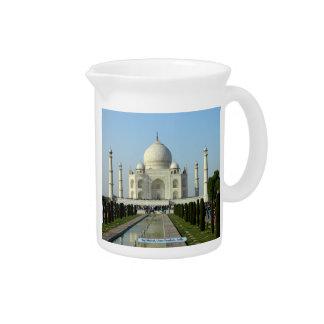 Taj Mahal, Uttar Pradesh, Indien Krug