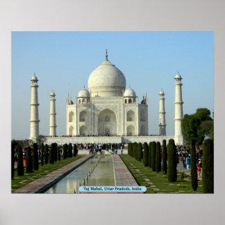 Taj Mahal, Uttar Pradesh, Indien Poster