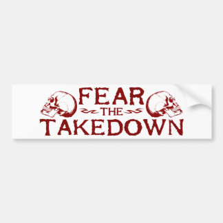 Takedown Autoaufkleber