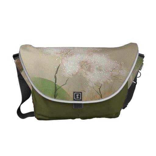 Takeuchi blühende Baum-Rickshaw-Bote-Tasche Kurier Tasche