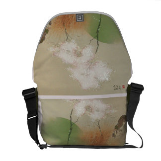 Takeuchi blühende Baum-Rickshaw-Bote-Tasche Kuriertasche