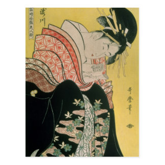Takigawa vom Teehaus, Ogi Postkarte