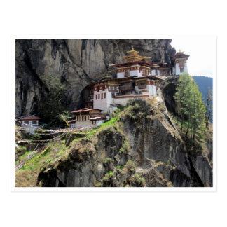 taktsang Bhutan Postkarten