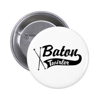 TaktstockTwirler Runder Button 5,7 Cm