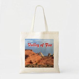 Tal der Feuer-Wüsten-Landschaften Tragetasche