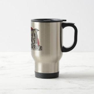 Tal der Sun-Hunderettungs-Logo-Reise-Tasse Reisebecher