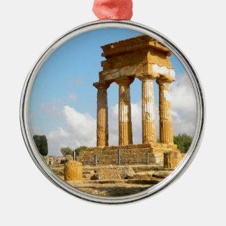 Tal der Tempel Sizilien Silbernes Ornament
