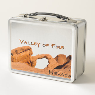 Tal des Feuers Metall Lunch Box