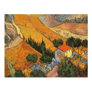 Tal mit dem Ploughman gesehen von oben genanntem Postkarte