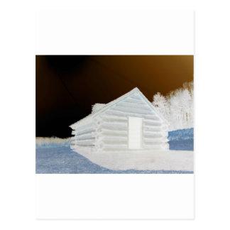 Tal-Schmiede, PA-Kabine (Farben geändert) Postkarte