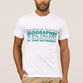 Talent des Geograph-3% T-Shirt
