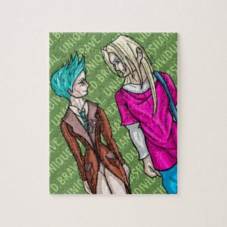 Taliah und Erik Puzzle