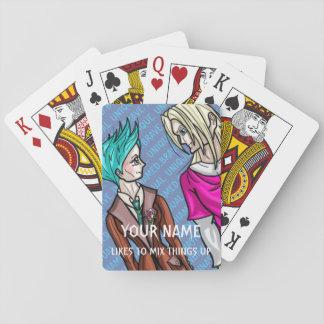 Taliah und Erik Spielkarten