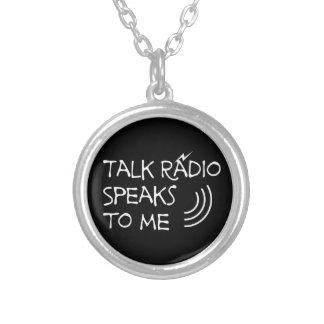 Talk-Radio spricht mit mir © Versilberte Kette
