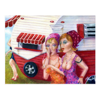 Talkin Abfall, Postkarte durch Alma-Lee