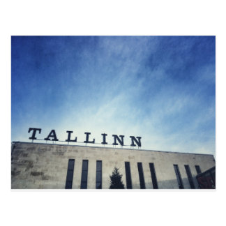 Tallinn-Bahnstation Postkarte