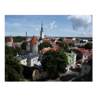 Tallinn, Estland Postkarte