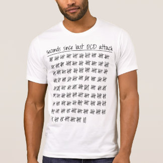 Tally der Zwangsstörung-OCD T-Shirt