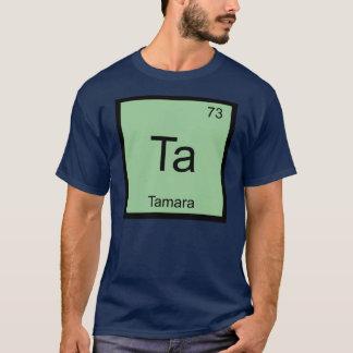 Tamaranamenschemie-Element-Periodensystem T-Shirt