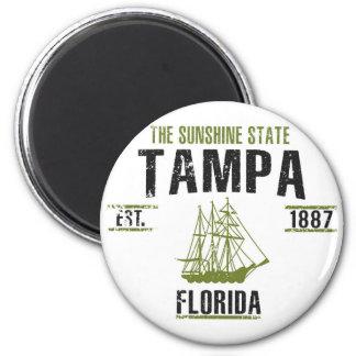 Tampa Runder Magnet 5,7 Cm