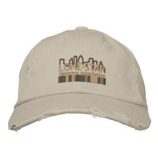 TAN beunruhigte Logo-Hut Bestickte Mütze