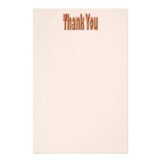 Tan danken Ihnen Büropapiere
