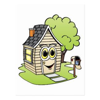 TAN-Haus-Cartoon Postkarte