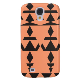 TAN-minimales Stammes- Galaxy S4 Hülle