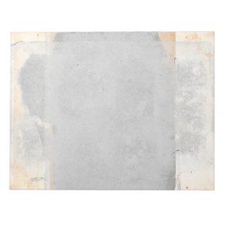 TAN-Sand-graue Fresko-Art-Seiten-Vintage Farbe Notizblock