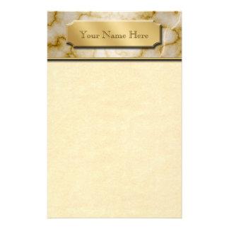 TAN und weißer Marmor Druckpapier