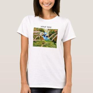 Tanager-Porträt-Aquarell T-Shirt