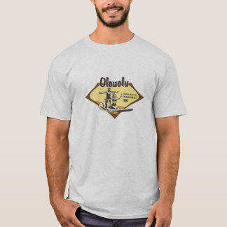 Tandem, das hawaiisches Retro surft T-Shirt