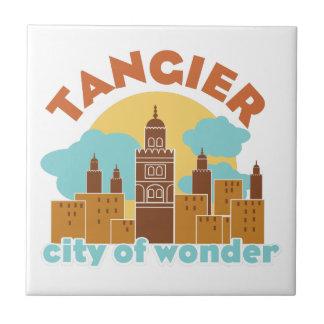 Tanger-Stadt des Wunders Fliese