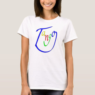 Tango-glückliches Gesicht T-Shirt