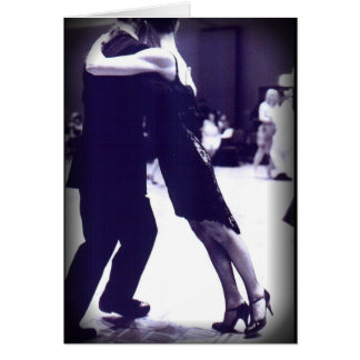 Tango-Gruß-Karte Grußkarte