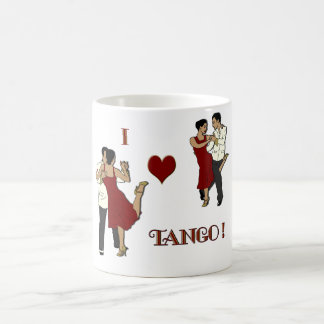 Tango Herz des Tassenklassikers I Kaffeetasse